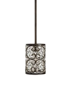 Shop Crystalline Mini Pendant at Horchow, where you'll find new lower shipping on hundreds of home furnishings and gifts. Mini Pendant Lights, Pendant Lamp, Pendant Lighting, Ceiling Canopy, Ceiling Lights, Kitchen Pendants, One Light, Kitchen Lighting, Bronze Finish