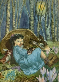 ''Brother and Sister,'' a Grimms fairy tale illustrated by Cremonini