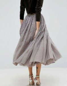 I love this skirt! B