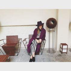 NEXUM - by francesco fazio & carlo gabriele @Camille Eleonora Carisi wearing a #Borsalino Fedora hat.