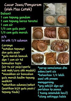 Balik sarawak my grandmaa buatkann Indonesian Desserts, Asian Desserts, Indonesian Food, Malaysian Dessert, Malaysian Food, Curry Puff Recipe, Sambal Recipe, Asian Cake, Malay Food