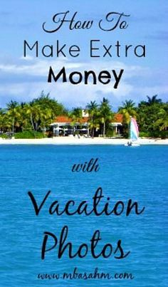 I am one of those people that takes photos of everything when I vacation. So when I discovered how to make extra money with vacation photos, I got that crazy entrepreneur-butterfly-itch that hits me time and again. Making Money, Making Money Ideas, Making Money Online