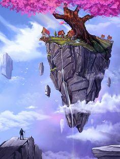 """@Behance projeme göz atın: """"ancient tree"""" https://www.behance.net/gallery/57461043/ancient-tree"""