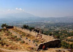 The Ottoman-era stables among the ruins of Tlos, Turkey near Fethiye.