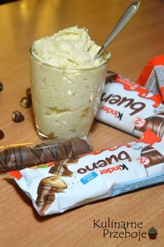 domowy krem kinder bueno - My CMS Cookie Desserts, Chocolate Desserts, Fun Desserts, Delicious Desserts, Yummy Food, Sweet Recipes, Cake Recipes, Snack Recipes, Polish Recipes