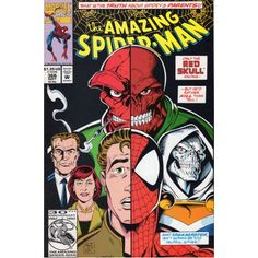 AMAZING SPIDER-MAN #366 | Marvel Comics | September 1992 | Red Skull | Taskmaster