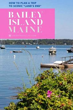 The charming, ocean-swept Bailey Island, Maine is a perfect New England getaway where you'll find coastal beauty, Land's End, and more. [Harpswell, ME] #enjoytravellife Alaska Travel, Us Travel, Travel Maine, Family Travel, Cool Places To Visit, Places To Travel, Travel Destinations, Bailey Island Maine, Travel Guides