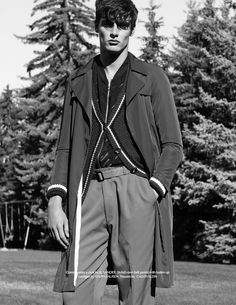 Wilhelmina up and comer Connor Patterson charms in a fashion editorial lensed by photographer Jared Bautista. Nurturing a moment of nostalgia, Bautista links up with stylist Ivan Jimenez for a vintage fashion narrative. Venturing outdoors for classic black & white images, Connor is front and center as he models choice pieces that never go out …