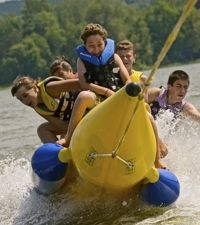 Tyler's Place Family Camp Resort, Vermont. One of Child magazine's 10 best family resorts. And our family friends loved it!