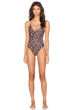 8e99ef9ce4ea8e Stone Fox Swim Hermosa One Piece in Leopard Stone Fox, Revolve Clothing, Bathing  Suits