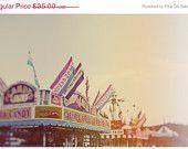 Fair Photograph - Ferris Wheel Photograph - Fine Art Photography - Summer - Fair - Lights - Original Art - Starfall. $31.50, via Etsy.