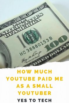 Have you been wondering how much do small YouTubers make? In this video I'll be exposing my YouTube income report so that you know exactly how much money YouTube paid me. Today I'll be sharing with you my YouTube earnings, which is how much YouTube pays me just from YouTube ads. Make Money Blogging, Make Money Online, How To Make Money, Graphic Design Tools, Youtube Money, Online Video, Marketing Software, Money Today, Online Entrepreneur