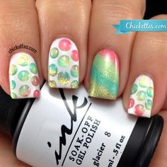 Nail Art with Glam and Glits Pure Pigments