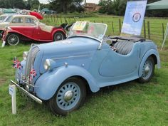 1939 Standard Flying 8 tourer at Breamore House classic car show