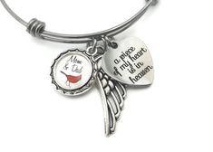 HOLLP Memorial Bracelet Sympathy Gift Loss of Baby Girl Boy Bracelet Remembrance Jewelry Loss Memorial Gift for Women