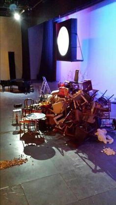Metamorfosen Toneelgroep de Appel. 2015. Einde voorstelling!