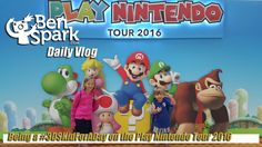 Being a #3DSKidForADay on the Play Nintendo Tour 2016  We were hosted by Nintendo to attend the Play Nintendo Tour 2016 at the South Shore Plaza and at California Pizza Kitchen as part of the #3DSKidForADay event. We were able to play some great Nintendo 3DS Games like Mario Kart 7, Super Mario Bros 2, Donkey Kong Country Returns, Pokemon Alpha Sapphire, Pokemon Omega Ruby, Kirby Planet Robobot,Yoshi's New Island and Yokai Watch.