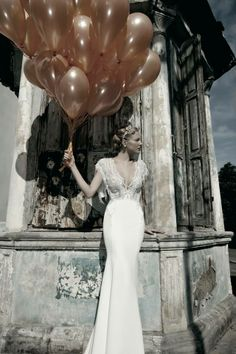 A Galia Lahav wedding dress again
