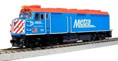 Parts and Spares 180256: Kato Usa Model Train Products 160 Emd F40ph Chicago Metra Village Of Winfield... -> BUY IT NOW ONLY: $198.21 on eBay!