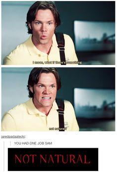 """""""I mean, what if there's something... not natural?"""" 