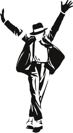 Image result for michael jackson silhouette