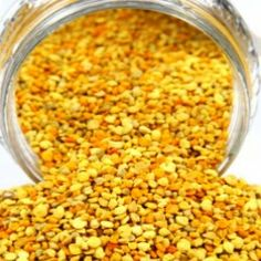 Natural Remedies For Allergies Bee Pollen. So many health benefits. Got allergies? This is an effective all natural treatment. Natural Remedies For Allergies, Allergy Remedies, Natural Health Remedies, Herbal Remedies, Allergy Symptoms, Healing Herbs, Medicinal Herbs, Natural Healing, Bee Pollen
