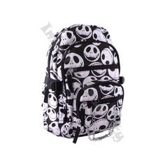 Nightmare Before Christmas - Jack Skellington BackPack - Unisex Bags -... ($45) ❤ liked on Polyvore