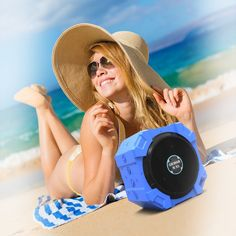 Bluetooth Speaker for iPhone and Other Mobile Devices, Waterproof, Rugged, Shockproof, Dustproof, Indoor/Outdoor, Hi-Def Bass, Brilliant Blue, by ARMOR MiNE http://www.amazon.com/Bluetooth-Waterproof-Shockproof-ARMOR-MiNE/dp/B00R70KWO0/?ie=UTF8&ARMOR+MiNE&seller=AIIMD6XZX0HDQ&keywords=speakers+with+bluetooth