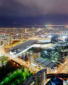 Bett Gallery Hobart - David Stephenson - Melbourne from Rialto Tower looking West 1