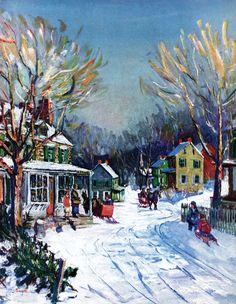 """A Blessed Christmas"" by Ellen Michaud  Nov/Dec SEP 2014"