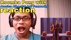 Roomba Pong with Jessica Alba and Jeff Foxworthy -ReactionMY REACT VIDEO WORLD