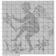 Schemi per il filet: Angelo Custode - Paperblog