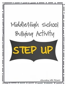 Prevent and help heal harm due to bullying and teasing. The Step Up activity gives students a safe opportunity to voice their own experiences with teasing, bullying, discrimination and exclusion, facilitates empathy for how this treatment feels, helps students take responsibility for ways they have hurtfully treated each other, and increase respect for differences and similarities among their classmates.