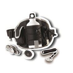 Black Handy Camping Waist Bag Travel Set
