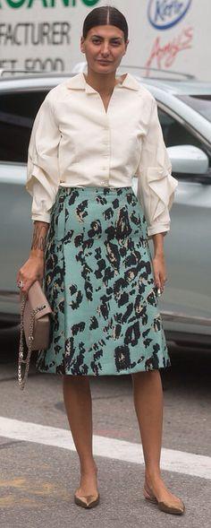 Button down/skirt....