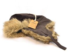 Winter Urban Pipeline Men Brown Ear Flap Ski Beanie Trapper Faux Fur Snow 7472 #UrbanPipeline #TrapperBeanie