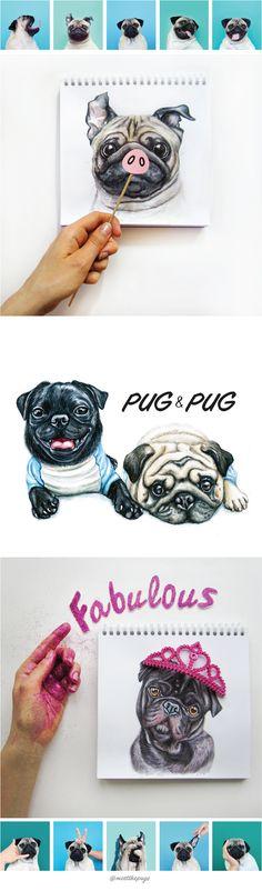 PUG-PIG on Behance