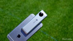 This gadget turns your iPhone into a 360 camera but it has some quirks By Jason Cipriani2016-08-23 13:19:02 UTC  For the first-half of 2016 Android makers such as LG and Samsung have made a big deal about cameras capable of capturing 360-degree photos and video. Apple for its part has yet to announce a camera of its own.  So iPhone users who want to dabble with the hottest photography trend have been left to pick between the relatively unheard of Ricoh Theta S or the LG 360 Cam (Samsungs…