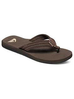 a891894279b Quiksilver Mens Carver Suede 3Point FlipFlop   More info could be found at  the image url