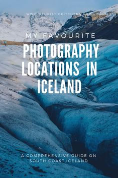 Iceland Photography locations on the South Coast- Reykjavik to Höfn   http://www.heuristickitchens.com