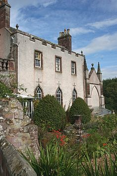 Delgatie Castle East wing. Delgatie Castle is a castle near Turriff, in Aberdeenshire, Scotland. A castle has stood on the site of Delgatie Castle since the year 1030 AD, although the earliest parts of the castle standing today were built between 1570 and 1579.