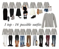 The Stripe Top - 1 top - 16 possible outfits by nicky-jane-neary on Polyvore featuring polyvore, fashion, style, Glamorous, Petit Bateau, River Island, Madewell, Acne Studios, Valentino, Yves Saint Laurent, Dorothy Perkins, Mother, DKNY, Jigsaw, 8, Polo Ralph Lauren, J.Crew, 3x1, Frye, Converse, UGG, Alexander McQueen, Steve Madden, Havaianas, Christian Louboutin, Robert Clergerie, Gap, Jimmy Choo and clothing