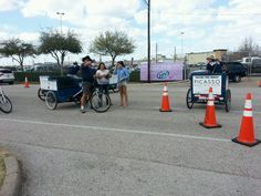 Many times the @LoneStarBikeCab drivers help people navigate when they are lost #gps