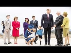Cutest moments of Prince George and Princess Charlotte in Canada play day - YouTube