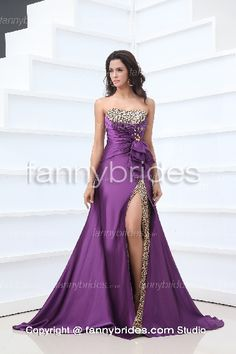 First-rate Strapless Crystal Ruffles Modern Prom Dress - Fannybrides.com Discount Prom Dresses, Dress P, Ruffles, Formal Dresses, Elegant, Crystal, Modern, Fashion, Dresses For Formal