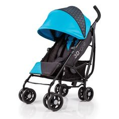 Other Strollers 2989: 3D-One Convenience Stroller, Geometric Blue - 32503 -> BUY IT NOW ONLY: $229.99 on eBay!