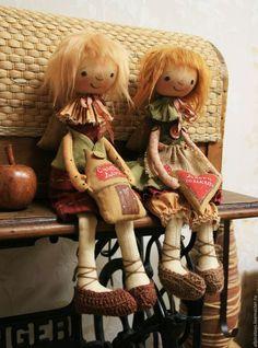 Чердачная кукла. Текстильная кукла. Гном. Домовой.