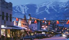 Whitefish, MT...been there and loved it, can't wait to go back!