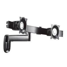 Chief Single Arm Articulating Wall Mount, Dual Monitor Array