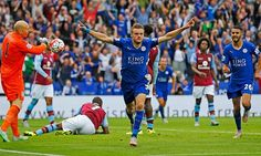 Jamie Vardy breaks record as Leicester draw with Manchester United | Football | The Guardian